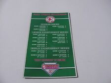 MLB BOSTON RED SOX 2004 WORLD SERIES CHAMPIONS DUNKIN DONUTS SCOREBOARD MAGNET