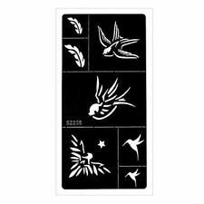 lecoolz Henna Tattoo Schablone Airbrush Stencil Ornamente