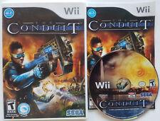 NINTENDO WI-FI CONNECTION & WII SPEAK THE CONDUIT SHOOTING VIDEO GAME FREE SHIPN