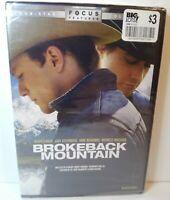 Brokeback Mountain DVD 2005 Widescreen New SEALED Heath Ledger Jake Gyllenhaal