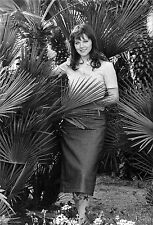 Photo originale Agostina Belli festival Cannes 1975