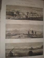 Eastern Turkestan Kashgar khirgiz 1874 stampa ref G