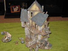Pro Done 28mm House Ruin Mordheim D&D LOTR Warhammer Frostgrave Terrain Scenery