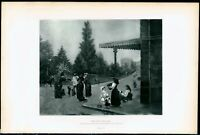 The Dog Seller I Spiridon 1880's excellent photogravure print