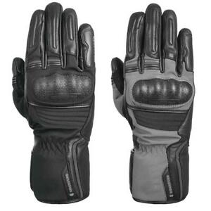 Oxford Hexham Leather Motorcycle Gloves Touring Commuter Winter Bike Glove