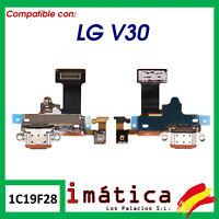 PLACA DE CARGA PARA LG V30 H930 CONECTOR PUERTO USB ANTENA MICROFONO FLEX MODULO