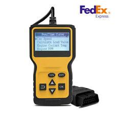 US OBD OBD2 EOBD Car Engine Fault Code Diagnostic Scanner Reader For Car  Truck