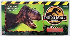 "RARE MILTON BRADLEY ""THE LOST WORLD JURASSIC PARK"" BOARD GAME 1996"