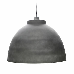 Pendulum Industrial Ceiling Beton White Vintage Retro Factory Loft Hanging Lamp