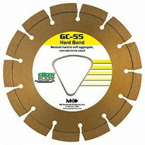 "MK Diamond Early Entry Diamond Blade 6 3/8"" Medium Soft Aggregate"