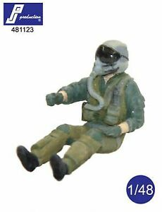 PJ Productions 1/48 F-16/F-18 Pilot Seated # 481123