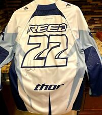 Chad Reed signed autographed 2008 Thor Racing motocross supercross 22 jersey COA