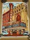 Eddie Vedder Concert Poster Munk One Chicago Theatre June 29 2011 Pearl Jam