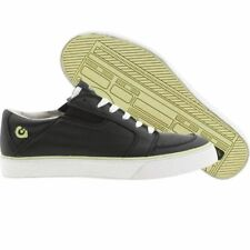 9cec18f79ed781 Mens Gravis Burton Lowdown Lime Black Leather Shoes SNEAKERS Skate Board  Punk DC