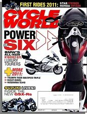Cycle World - 2011, January - BMW's All New K1600GT Luxury Tourers, GSX-Rs!