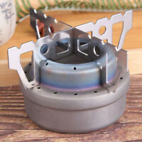 Cross Stove Stand Camping Stainless Steel Alcohol Rack 98cm Silver Cooking