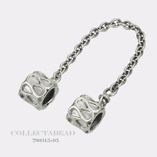 Authentic Pandora Sterling Silver Raindrop Safety Chain 790315