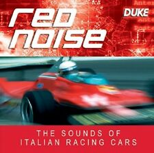 RED NOISE CD. FERRARI, MASERATI, ALFA, BUGATTI. CAR CD. 35 MINS. DUKE DM2148CD