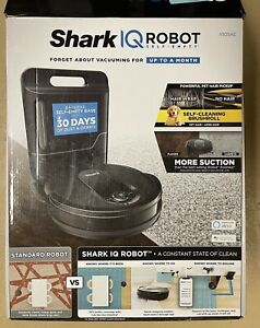 Shark IQ Robot Self-Empty Vacuum UR1001AE w/Self-Empty Base Wi-Fi Home Mapping