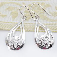 Ohrhänger Sterling Silber 925 Ohrringe Damen Ohrschmuck Tropfen Elegant TR