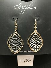New Sapphire Earrings, Made For Cracker Barrel Stores, Retails $9.99