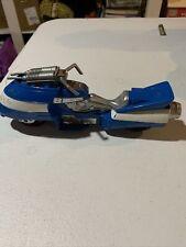 Bandai K6 Power Rangers Blue motorcycle toy