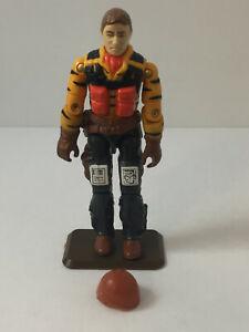 1988 GI JOE - SKYSTRIKER v1 (Tiger Rat Pilot) TIGER FORCE Hasbro ARAH Vintage