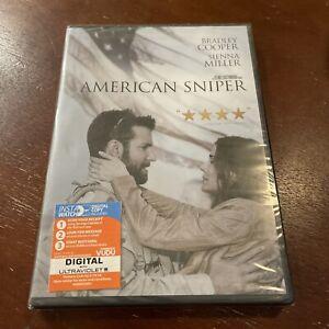 American Sniper (DVD) Bradley Cooper -Sienna Miller  BRAND NEW