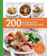200 MORE SLOW COOKER RECIPES - LEWIS, SARA - NEW PAPERBACK BOOK