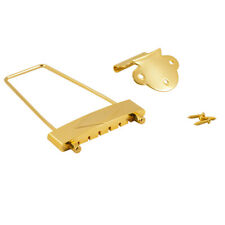 WD MUSIC T120G TAILPIECE for GIBSON L-50, L48, ES-125, or ES-330 GOLD