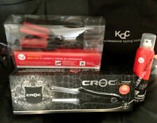 "Croc Classic Wet-Dry Nano-Titanium Ceramic Flat Iron (1-1/2"" inch) - CROCCLWD"