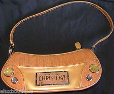 CHRISTIAN DIOR Chris 47 * LTD EDITION Handbag Purse Suede Patent Silver Bag NEW