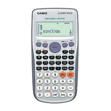 Genuine Casio Fx-570Es Plus Natural Display 417-Functions Scientific Calculator