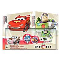 Disney Infinity Race to Space Toy Box Pack BUZZ LIGHTYEAR & LIGHTNING MCQUEEN