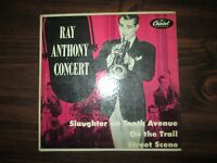 Ray Anthony Concert EP Capitol Records EAP 1-406 Slaughter on Tenth Avenue