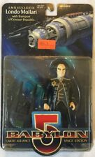 "Babylon 5 Ambassador Londo Mollari (Action Figure, 1997, 6"") New"