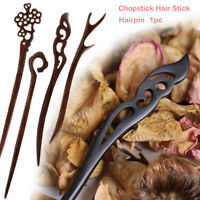 Handmade Carved Chopstick Hair Stick Hairpin Hair Accessories Styling Tools