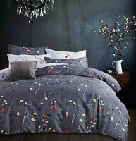 Reversible Queen/King/SuperKing Size Bed Duvet/Doona/Quilt Cover Set New Ar M298
