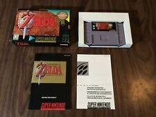 Zelda: A Link to the Past (Super Nintendo, SNES) Complete - Player's Choice