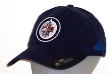 Winnipeg Jets adidas NHL Unstructured Slouch Navy Adjustable Hat / Cap