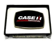 Case Agriculture IH Belt Buckle Tractor Harvester Farm Black Spec Cast Licensed
