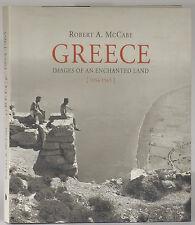 Robert McCabe Greece Enchanted Land Islands photos first edition