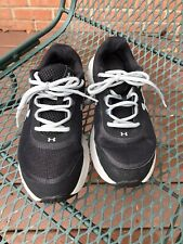 Womens Under Armour Rave 2 Running Shoes 7.5/38.5 Black