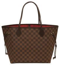Louis Vuitton Neverfull MM Damier Ebene Canvas Red 1d661f166b451