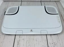 EUC Logitech N550 Lapdesk Computer Speakers Volume Control PC and Mac