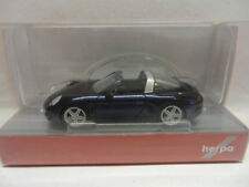 Herpa 038867 Porsche 911 Targa 4 nachtblau metallic blau 1:87 Neu
