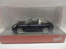 Herpa 038867 Porsche 911 Targa 4 noche metalizado azul azul 1:87 nuevo