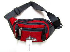 Bauchtasche Gürteltasche Freizeittasche Bag Street Sport Polyester rot