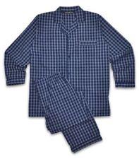 Pijamas y batas de hombre conjunto de 100% algodón talla XL