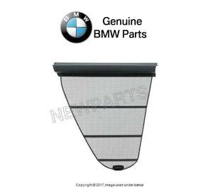NEW For BMW E39 Rear Driver Left Window Shade-Quarter Window-Dark Gray-Genuine